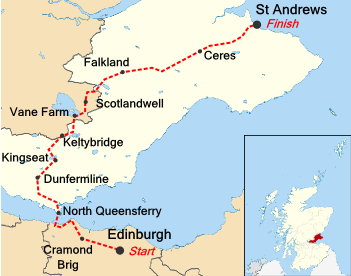 St Andrew's Way Route